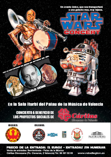 VALENCIA, SPAIN - STAR WARS 30th ANNIVERSARY CONCERT<br />
